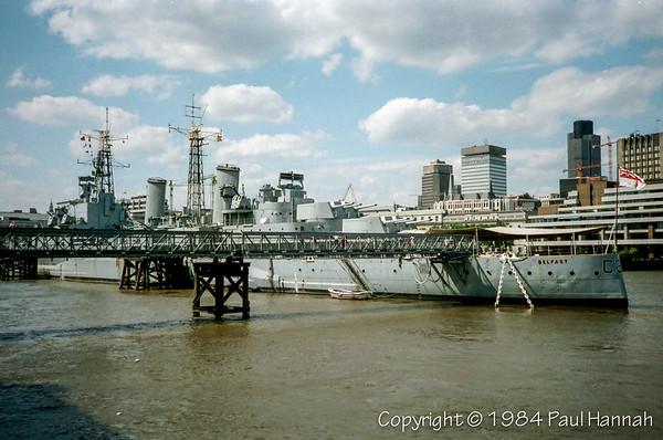 HMS Belfast - London, UK