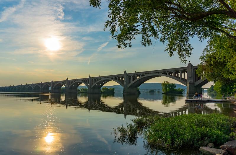 Columbia - Veterans Memorial Bridge fro park(p).jpg