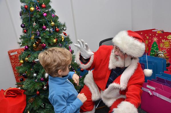 Santa @ iQuest December 2013