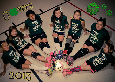 Clovers Volleyball 2013