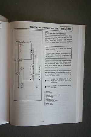 XT225 Starter Circuit.