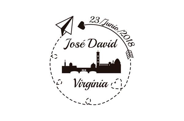 José David & Virginia - 23 junio 2018
