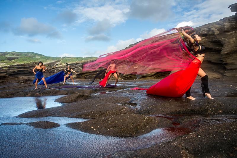 Ka Iwi Coast: Fire, Wind, Water
