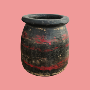 Indian Clay Cook Pot