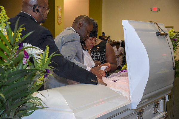 MARY KEBEH JOHNSON Funeral Service Photos.