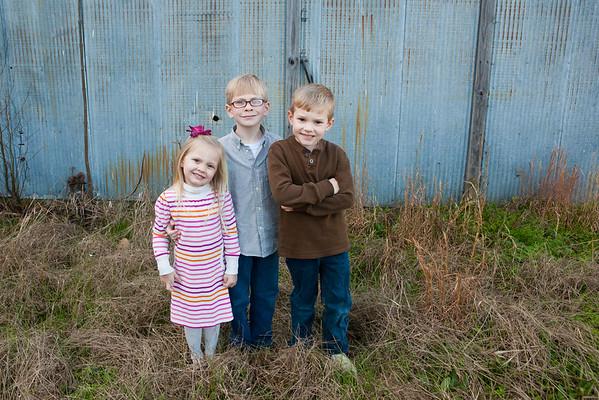Thomas family 2016