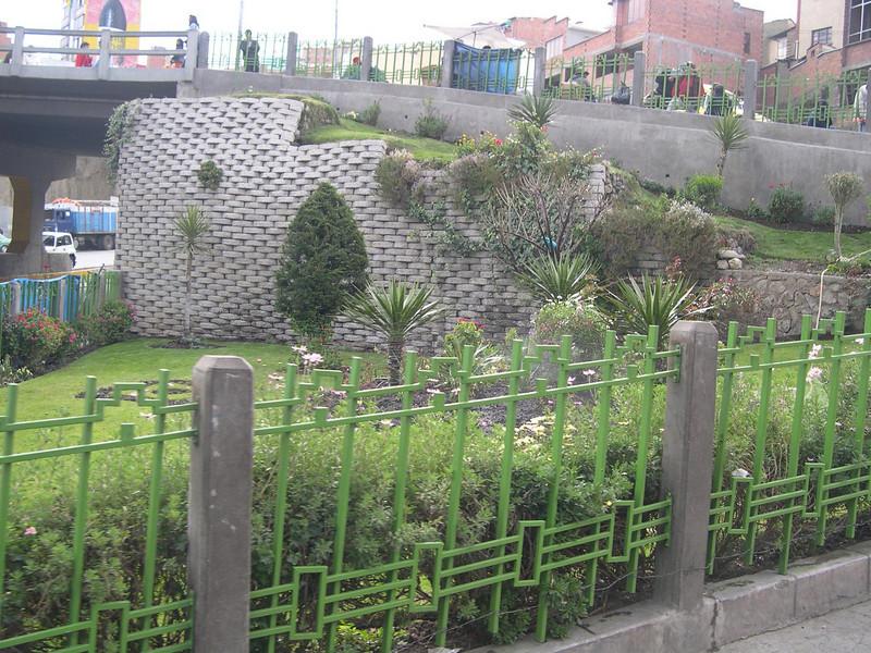 A little park we drove by in La Paz.
