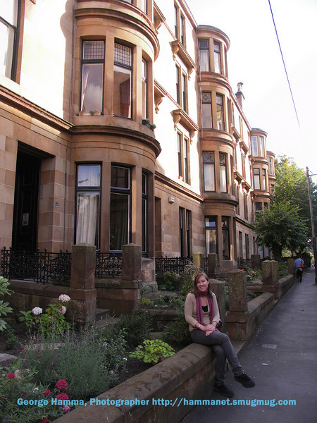 Coming back outside, it was easy to imagine living in one of these attractive victorian buildings.