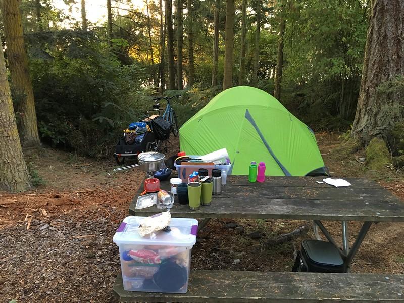 hiker/biker camp