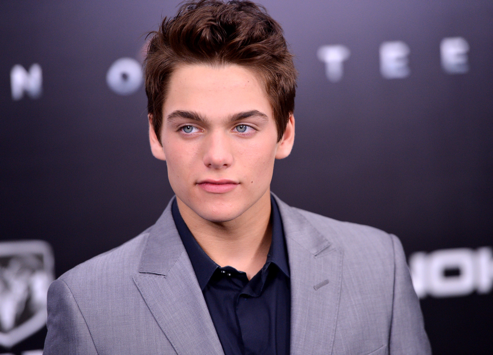 """. Actor Dylan Sprayberry attends the \""""Man Of Steel\"""" world premiere at Alice Tully Hall at Lincoln Center on June 10, 2013 in New York City.  (Photo by Stephen Lovekin/Getty Images)"""