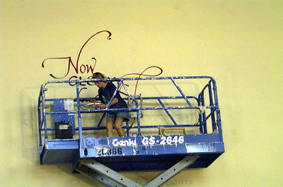 2000/08/07 - Painting new Church