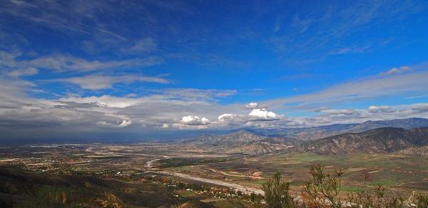 Zanja Peak in Crafton HIlls  12.29.12