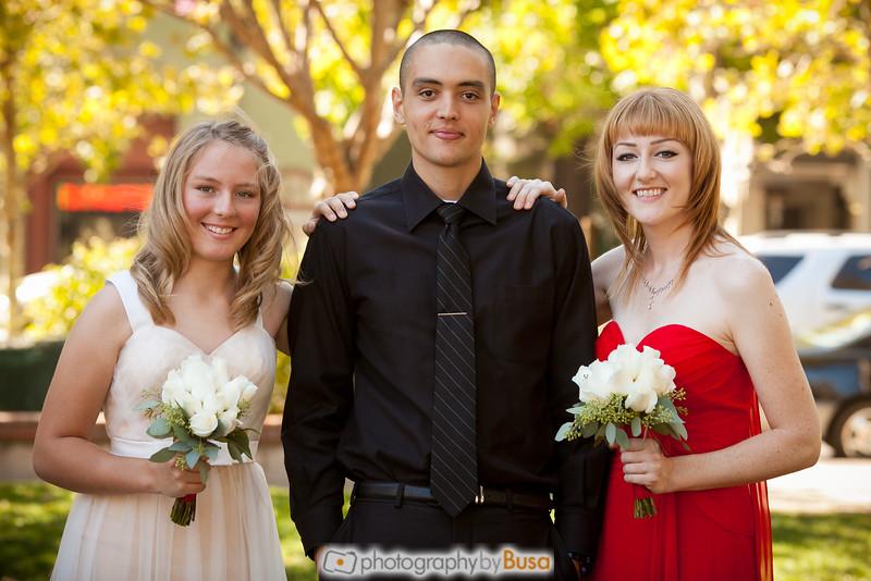 Mike, Family, Groomsmen Portraits