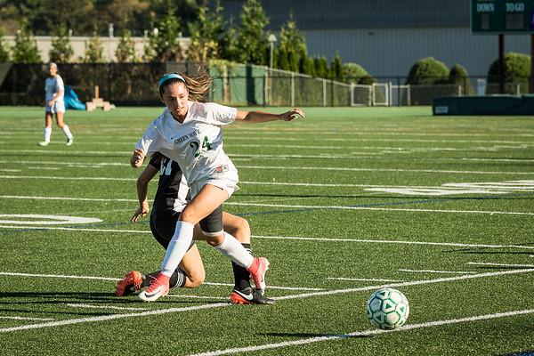 NMHS JV Girls Soccer vs Pomperaug L2-0