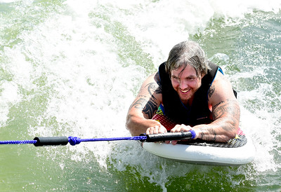 Photos: Adaptive Wake Surfing Clinic at the Boulder Reservoir