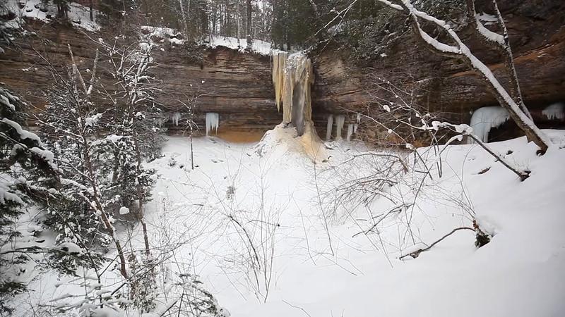Munising Falls (Pictured Rocks National Lakeshore)