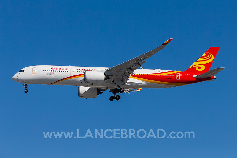 Hong Kong Airlines A350-900 - B-LGA - LAX
