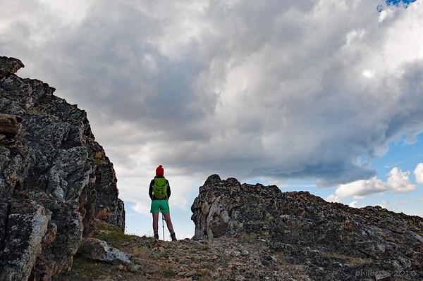 Lucifer Peak - the Devil's Range