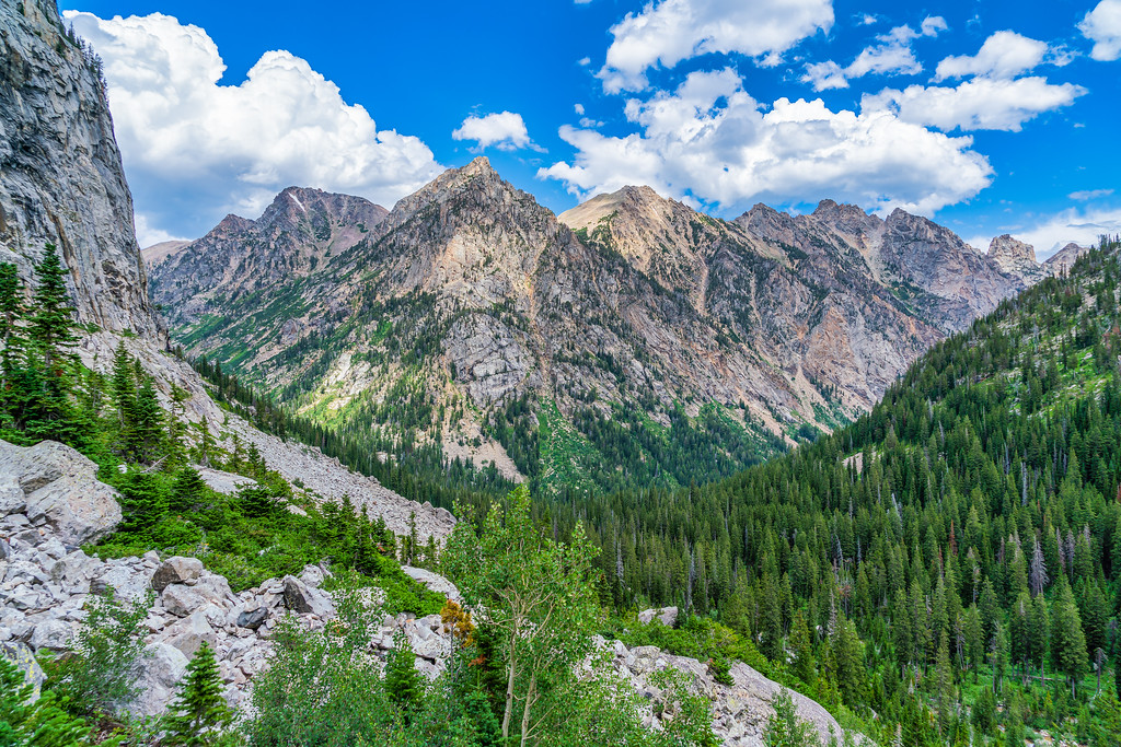 Cascade Canyon Grand Teton National Park Wyoming