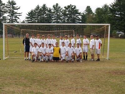 Keene Boys JV Soccer 2007