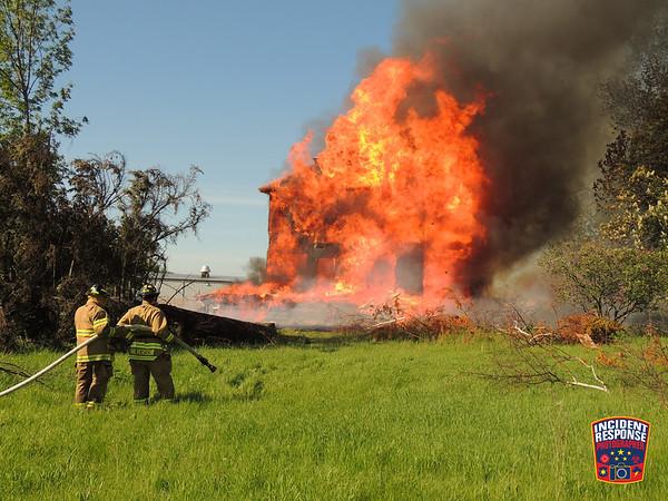 House Burn on June 6, 2015
