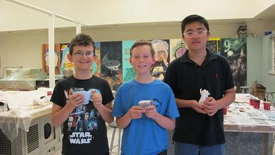 Ceramic Masterpieces Blossom at Art Class