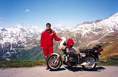 1996 Alps Motorcycle Tour