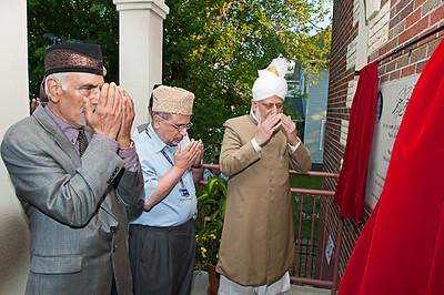 Hazrat Khalifatul-Masih V Visits Dayton Mosque and Columbus