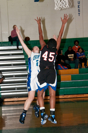 Churchill Girls Basketball12-10-09