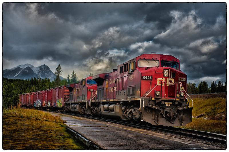 Take the train to Banff