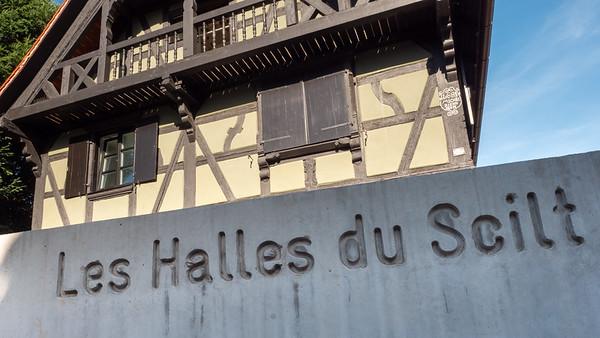 Les Halles du Scilt    Avant, après