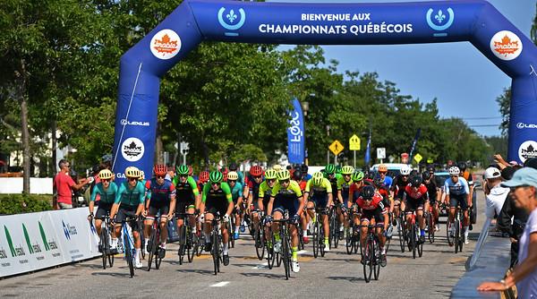Championnats québécois sur route ÉLITES - 2021 | ROUTE