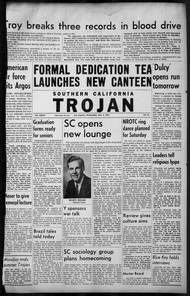 Southern California Trojan, Vol. 35, No. 41, October 06, 1943