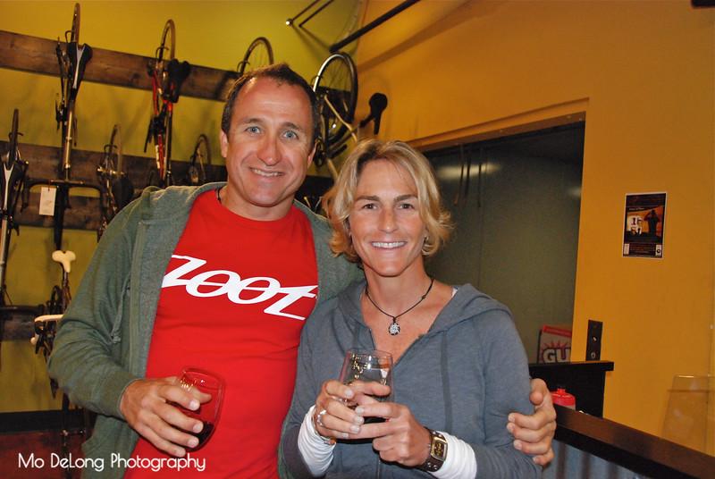 Jim Atkinson and Dana Loren