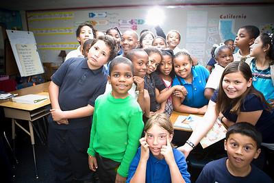 Barton Elementary Career day 2011
