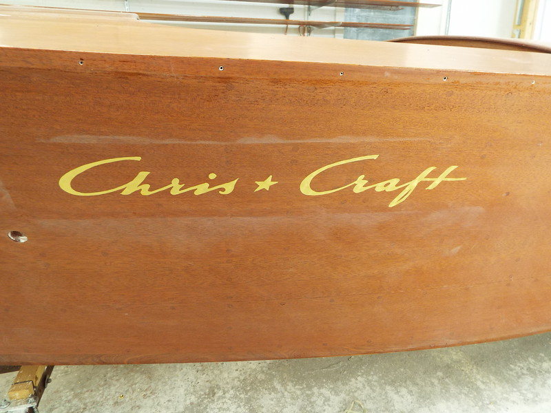 Chris Craft logo ready for the out line.