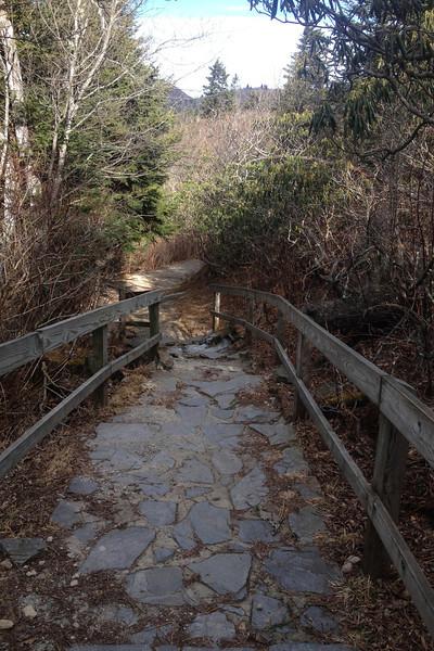 Devil's Courthouse Trail -- 5,680'