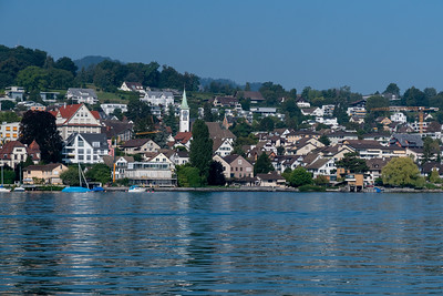 Zurich-see and Rapperswil
