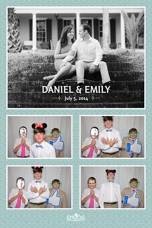 Daniel & Emily (prints)