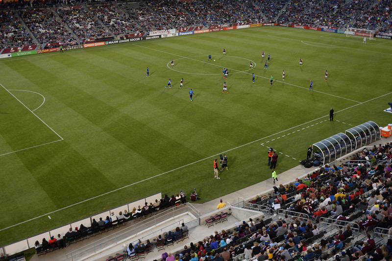 . The Colorado Rapids defeated the Montreal Impact 4-1 Saturday night, May 24, 2014 at Dick\'s Sporting Goods Park in Commerce City. (Photo by Karl Gehring/The Denver Post)