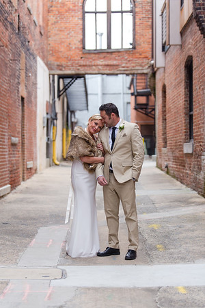 Melanie & Todd | A Sweet & Loving, Intimate Downtown Durham Elopement at Unscripted Hotel
