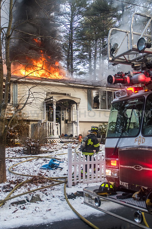 Billerica, MA 2nd Alarm - 15 Georgiana Rd - 1/19/17