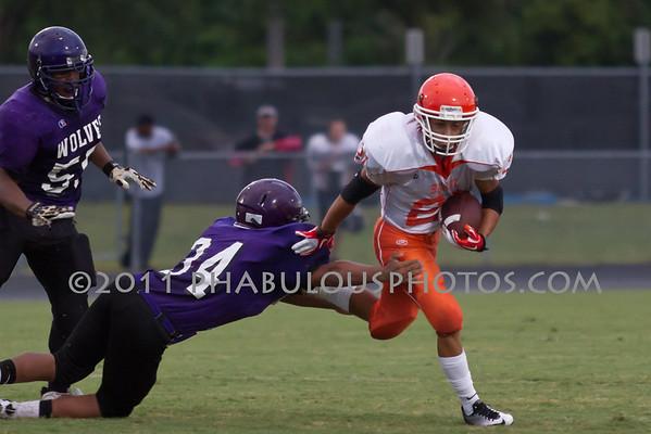 Boone JV Football #21- 2011