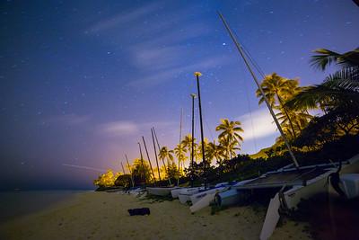 Lanikai Night Photos