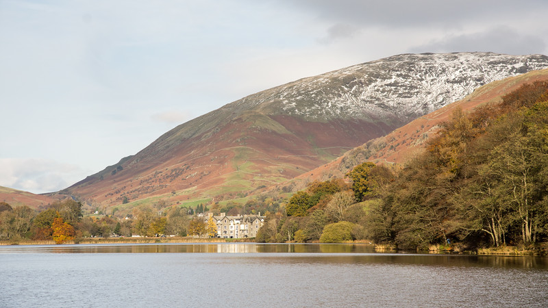 Grasmere lake and Seat Sandal