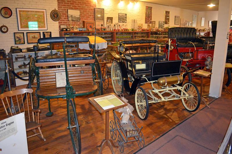 Row on Row of Classic Autos