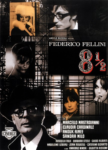 8 1/2 (1963) - Movies about Italy