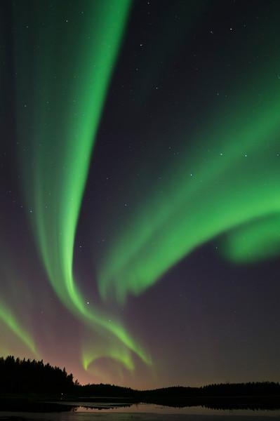 Aurora Borealis at Kalimenlampi VI
