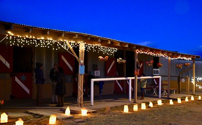 Stables Luminaria Walk (12/15/2019)