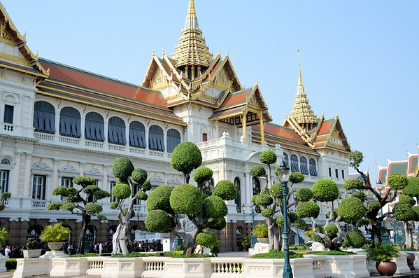 The Grand Palace, Bangkok, Thailand (March 2017)